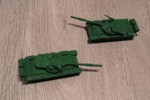 Tanc - macheta - TR 580 - tanc romanesc