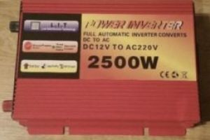 Invertor curent 2500w