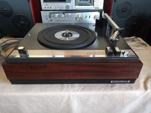Arad - Vand Pick-up Grundig Automatic 36. Defect (Nu porneste). Vintage 1965.